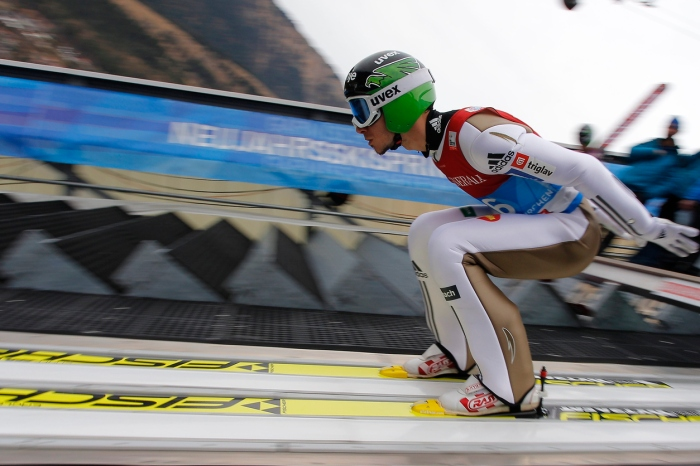 """64th FOUR HILLS TOURNAMENT SKY JUMPING IN GARMISCH-PATENKIRCHEN"""